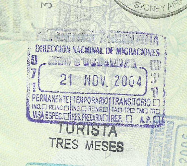 Tourist 3 months